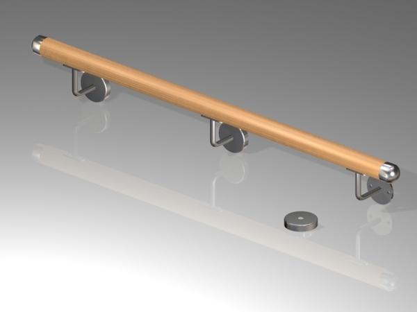 2m rundholz buche ballett stange ballettstange bung. Black Bedroom Furniture Sets. Home Design Ideas