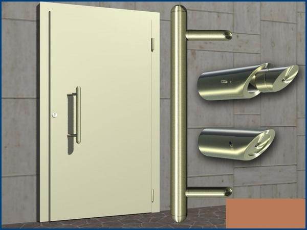 edelstahl haust rgriff griff haust r bis 1m v2a inox ebay. Black Bedroom Furniture Sets. Home Design Ideas