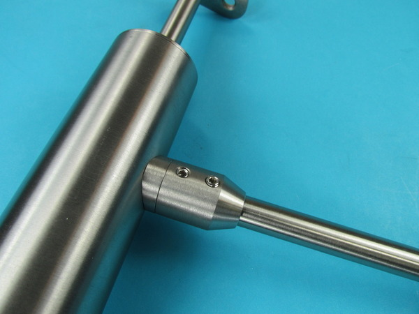 Edelstahl Stabhalter Traversenhalter 12mm Rundstahl Rohr Adapter Übergang V2A