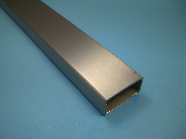 25cm Quadrat-Rohr 35x35 x 2 EDELSTAHL K240 Vierkantrohr